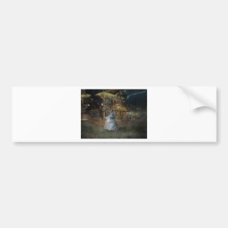 A Haunted Tale in Dahlonega Bumper Sticker