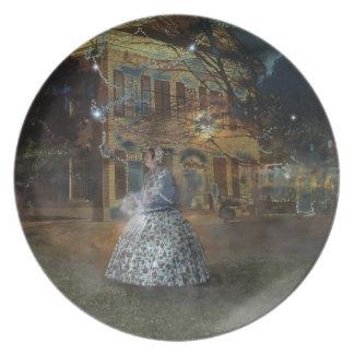A Haunted Tale in Dahlonega Dinner Plates