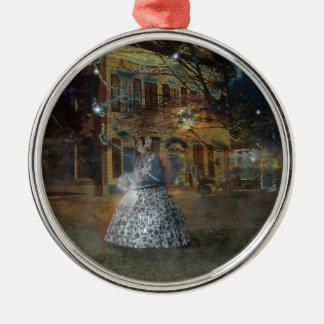 A Haunted Tale in Dahlonega Metal Ornament