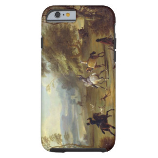 A Hawking Party, c.1690 (oil on canvas) Tough iPhone 6 Case