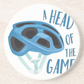 A Head Of Game Drink Coaster