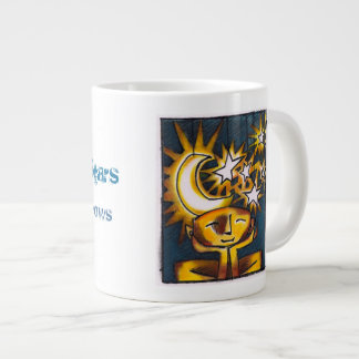 A Headful of Stars Large Coffee Mug