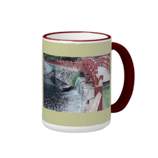 A Healer's Boat Ringer Coffee Mug