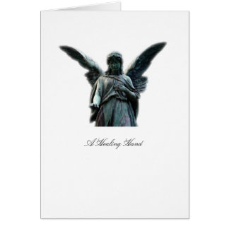 A Healing Hand Angel - Greeting Card
