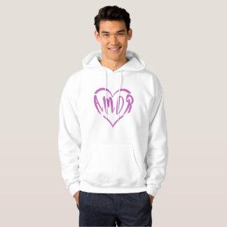 A heart full of Amor Hoodie