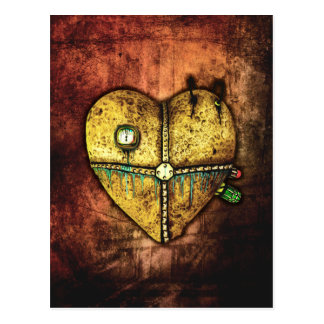 A Heart Less Broken Gothic Art Postcard