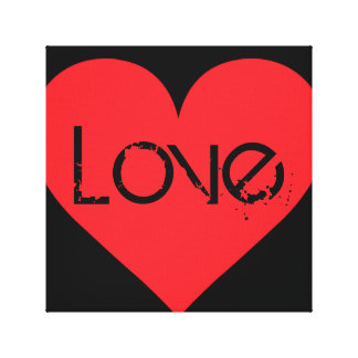 A Heart of Love and Affection Canvas Prints