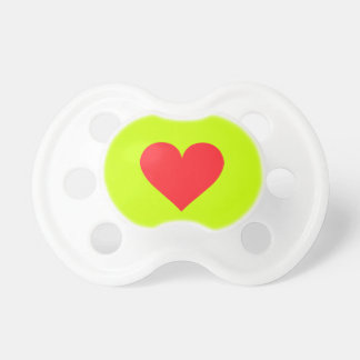 A Heart of Love and Affection Baby Pacifiers