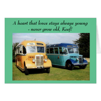 A heart that loves stays always young  - never ... card