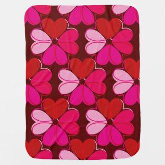 A Heartfelt Flower Baby Blanket