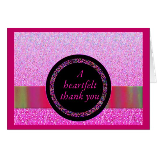 A Heartfelt Thank You Cards