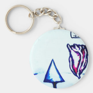 A Heart's Victory by Luminosity Basic Round Button Keychain
