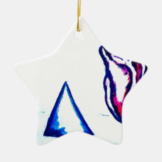 A Heart's Victory by Luminosity Ceramic Star Ornament