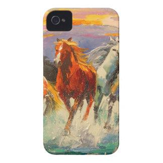 A herd of horses Case-Mate iPhone 4 case