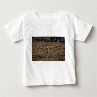 A Heron in the Slough Baby T-Shirt