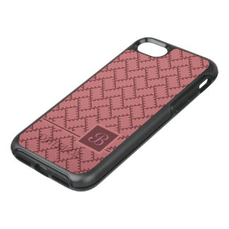 A Herringbone Pattern 10 OtterBox Symmetry iPhone 7 Case