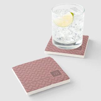 A Herringbone Pattern 10 Stone Coaster