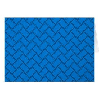 A Herringbone Pattern 12 Card