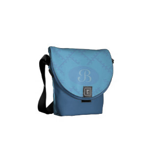 A Herringbone Pattern 14 Commuter Bag