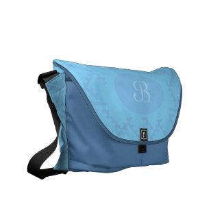 A Herringbone Pattern 14 Courier Bags