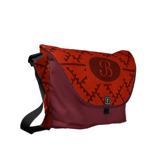 A Herringbone Pattern 15 Messenger Bags