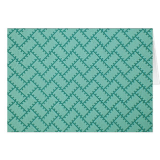 A Herringbone Pattern 5 Card