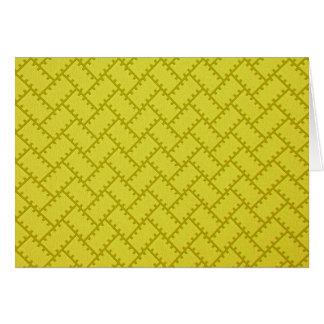 A Herringbone Pattern 7 Card