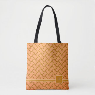 A Herringbone Pattern 8 Tote Bag