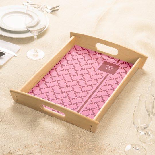 A Herringbone Pattern 9 Serving Platters