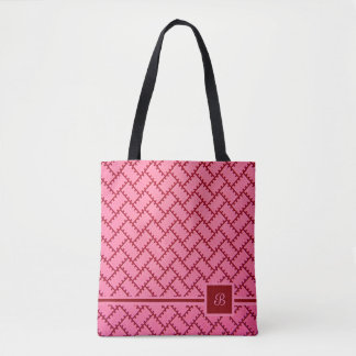 A Herringbone Pattern 9 Tote Bag