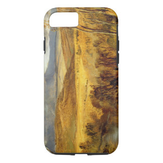 A Highland Landscape, c.1825-35 (oil on board) iPhone 7 Case
