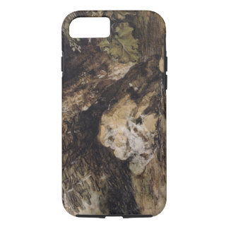 A Hilly Landscape with Figures Approaching a Bridg iPhone 7 Case