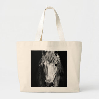 A Horse Called Elvis Large Tote Bag