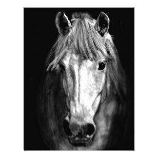 A Horse Called Elvis Letterhead Template