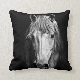 A Horse Called Elvis Throw Pillow