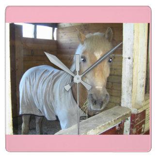 A Horse named Go Go from Alaska Clock