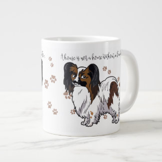 A house is not a home without a Papillon Mug