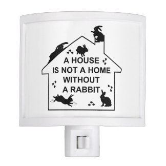 A House is not a Home without a Rabbit Night Light