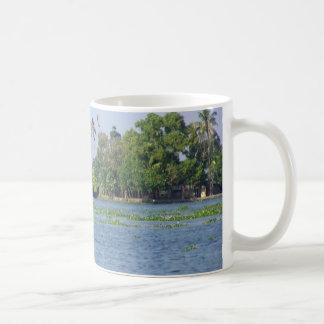 A Houseboat in backwaters in Kerala Coffee Mug
