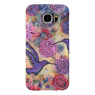 A Hummingbird Garden Samsung Galaxy S6 Cases