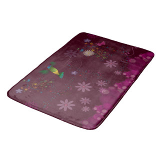 A Hummingbird Painter Bath Mat