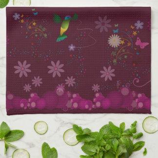 A Hummingbird Painter Kitchen Towel