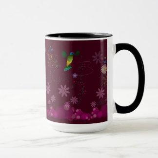 A Hummingbird Painter Mug