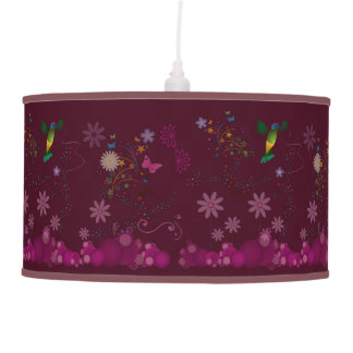A Hummingbird Painter Pendant Lamp
