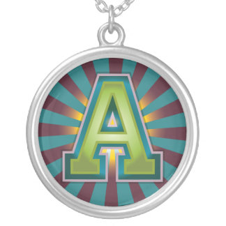 A Initial Pendant
