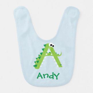 A Is For Alligator Cute Bib