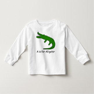 A is for Alligator Toddler T-shirt