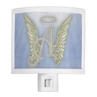 A is for Angel Gold Nightlight Night Light