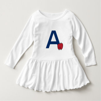 A is for Apple alphabet abc letter learning cute Dress