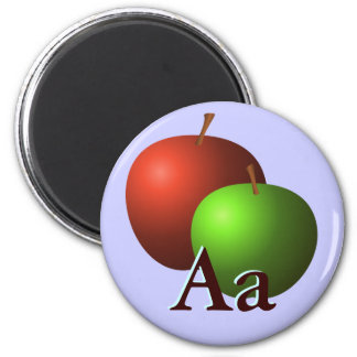 A is for Apples Magnet